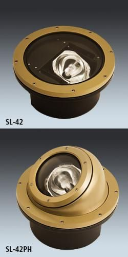 New Reduced Depth In-ground, Pedestrian-Level Light Fixtures